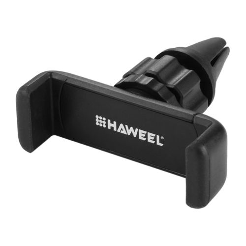 Haweel 360 Rotation Portable Air Vent Car Mount Phone Holder - Black
